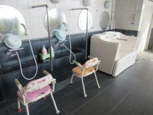 身体状況に応じた個浴